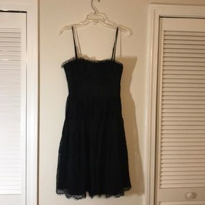 Forever 21 black lace dress.  I love this dress.